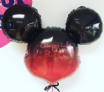 Mickey Mouse Ombre Bespoke Personalised Balloon helium filled